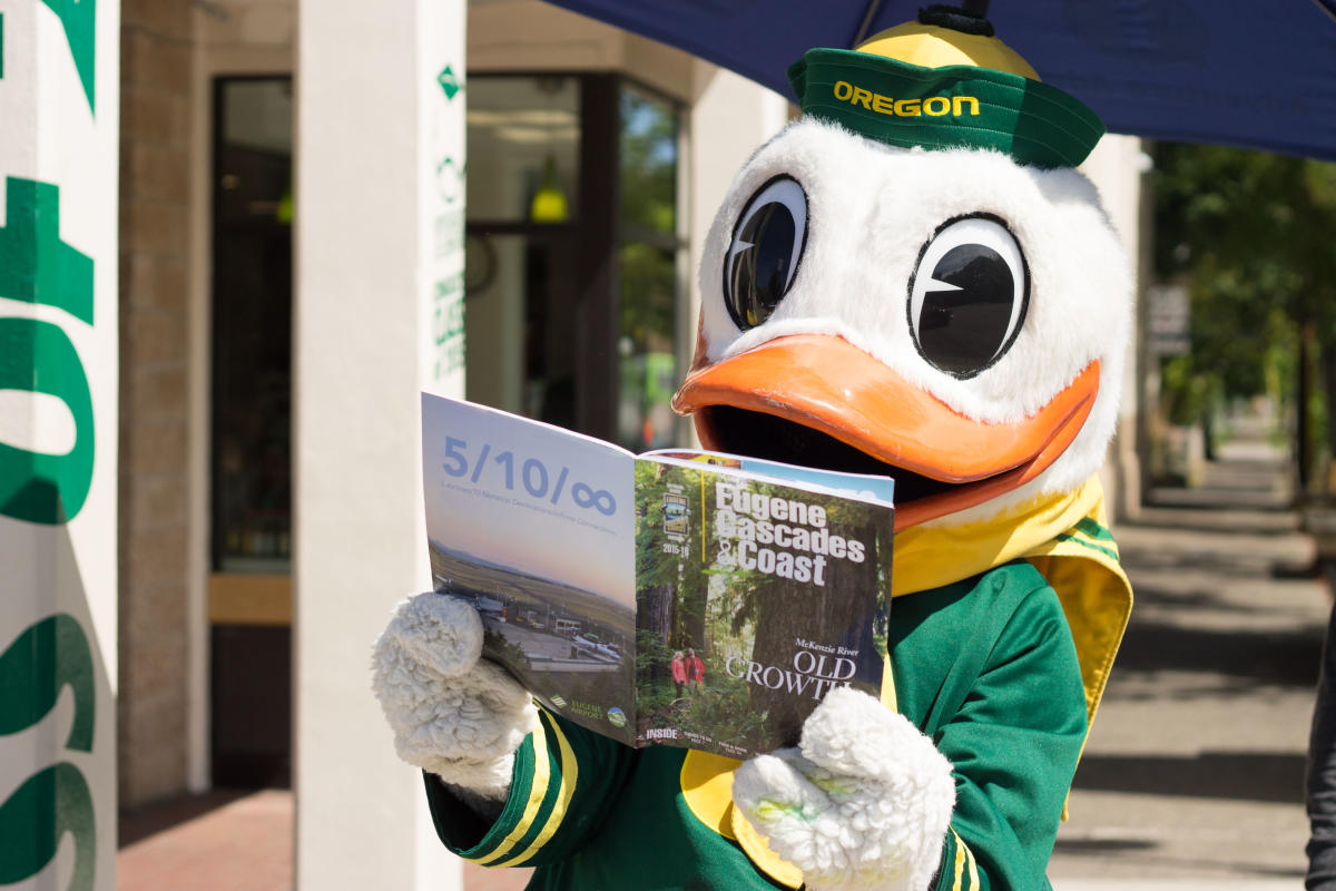 The Duck With Eugene, Cascades & Coast Visitor Guide