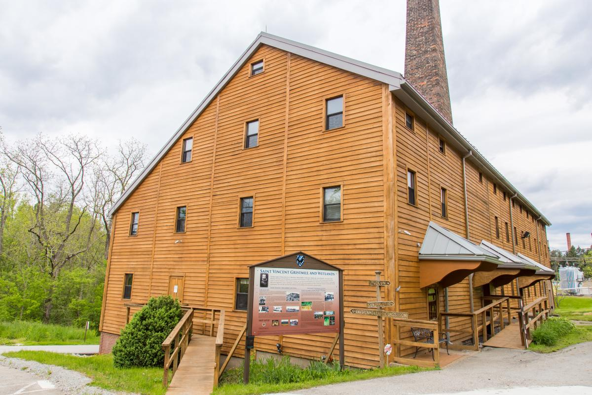 Gristmill at Saint Vincent