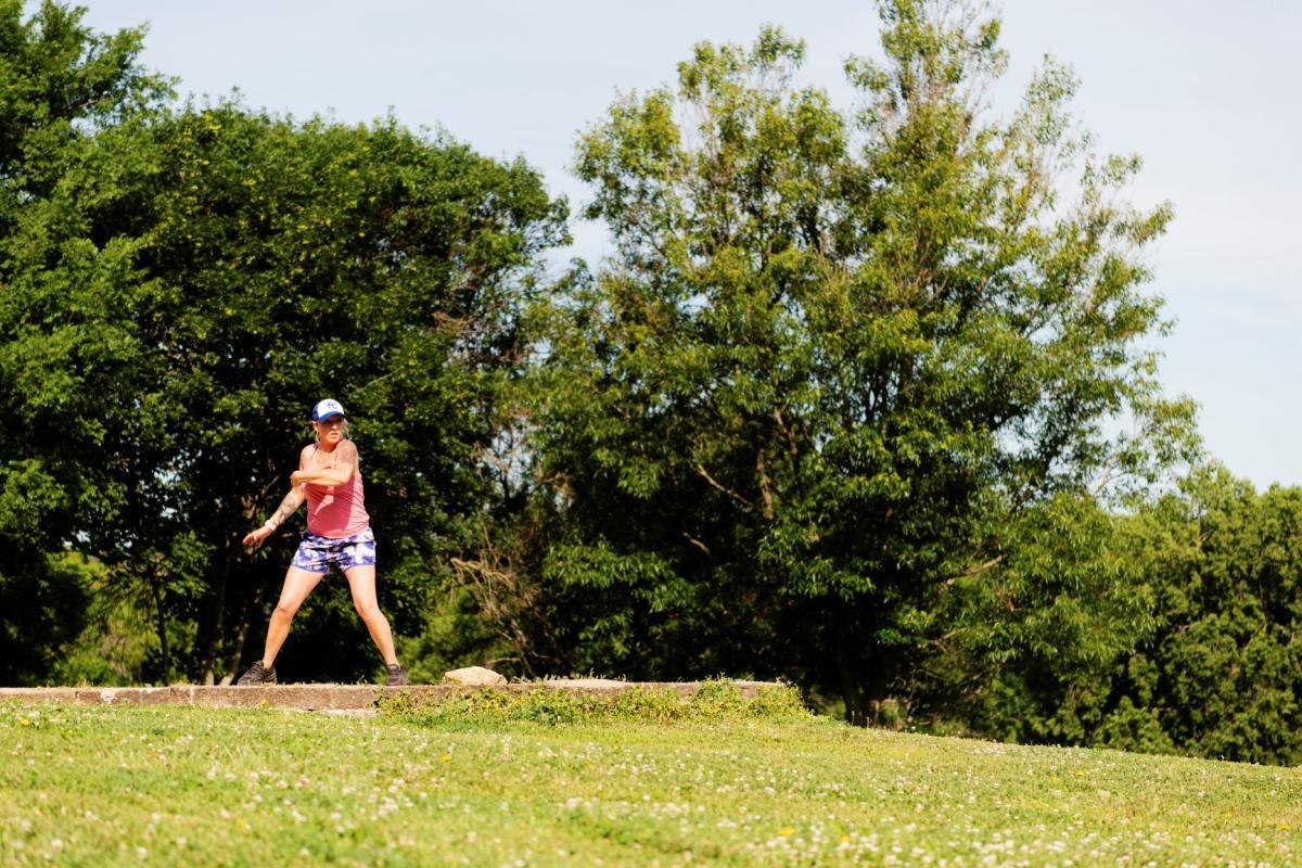 Disc Golf in Lawrence, Kansas