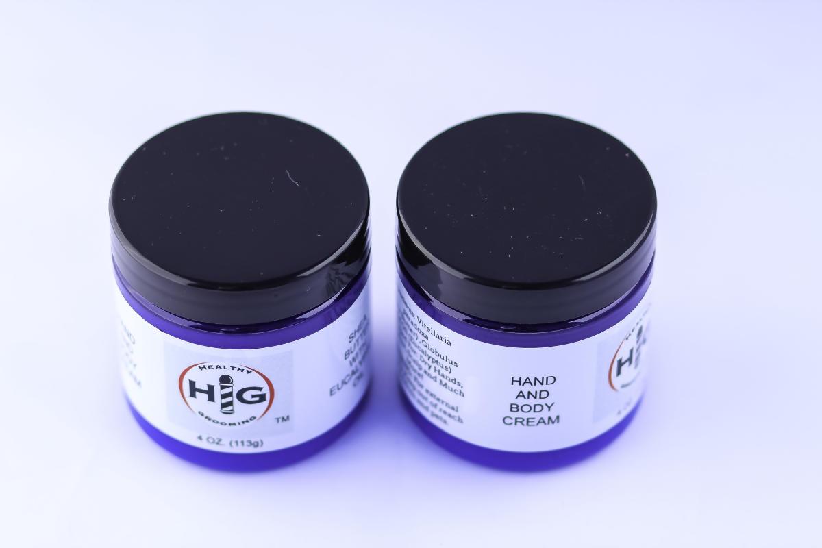 H and G hand cream