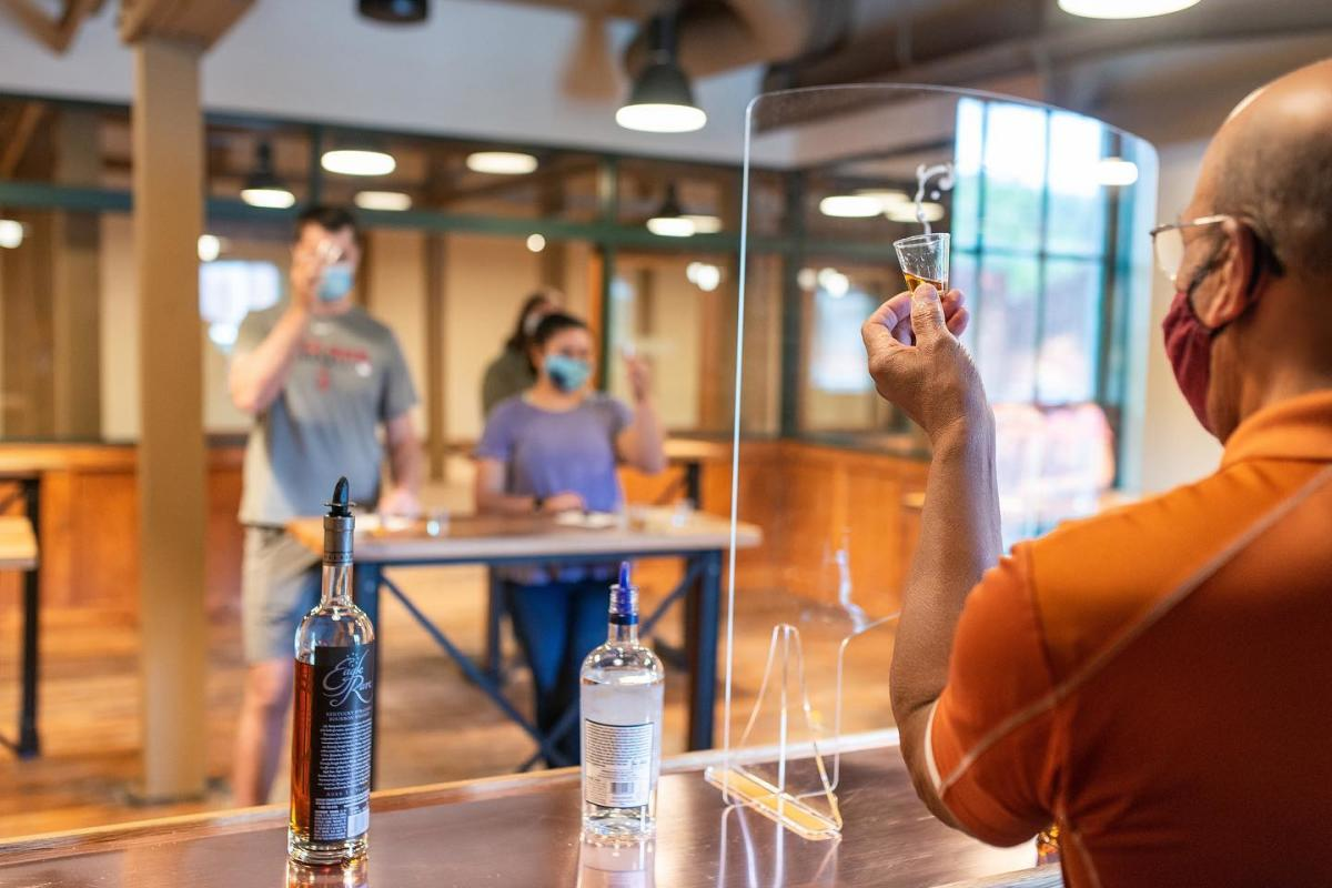 Socially Distanced Bourbon Tasting at Buffalo Trace Distillery