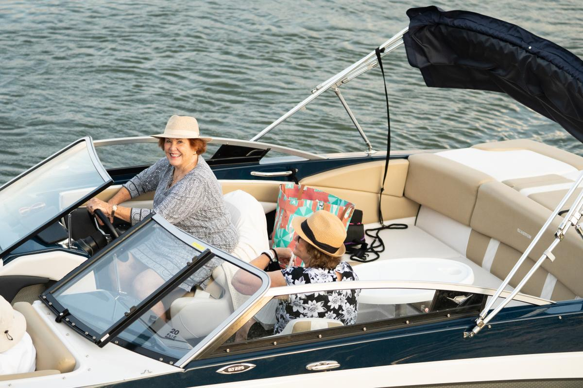 Boating on Madison's lakes are just one way to get around downtown