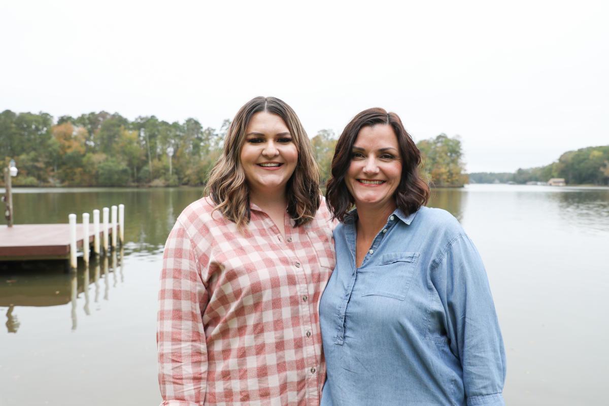 Lake Sinclair Life Holly and Madi