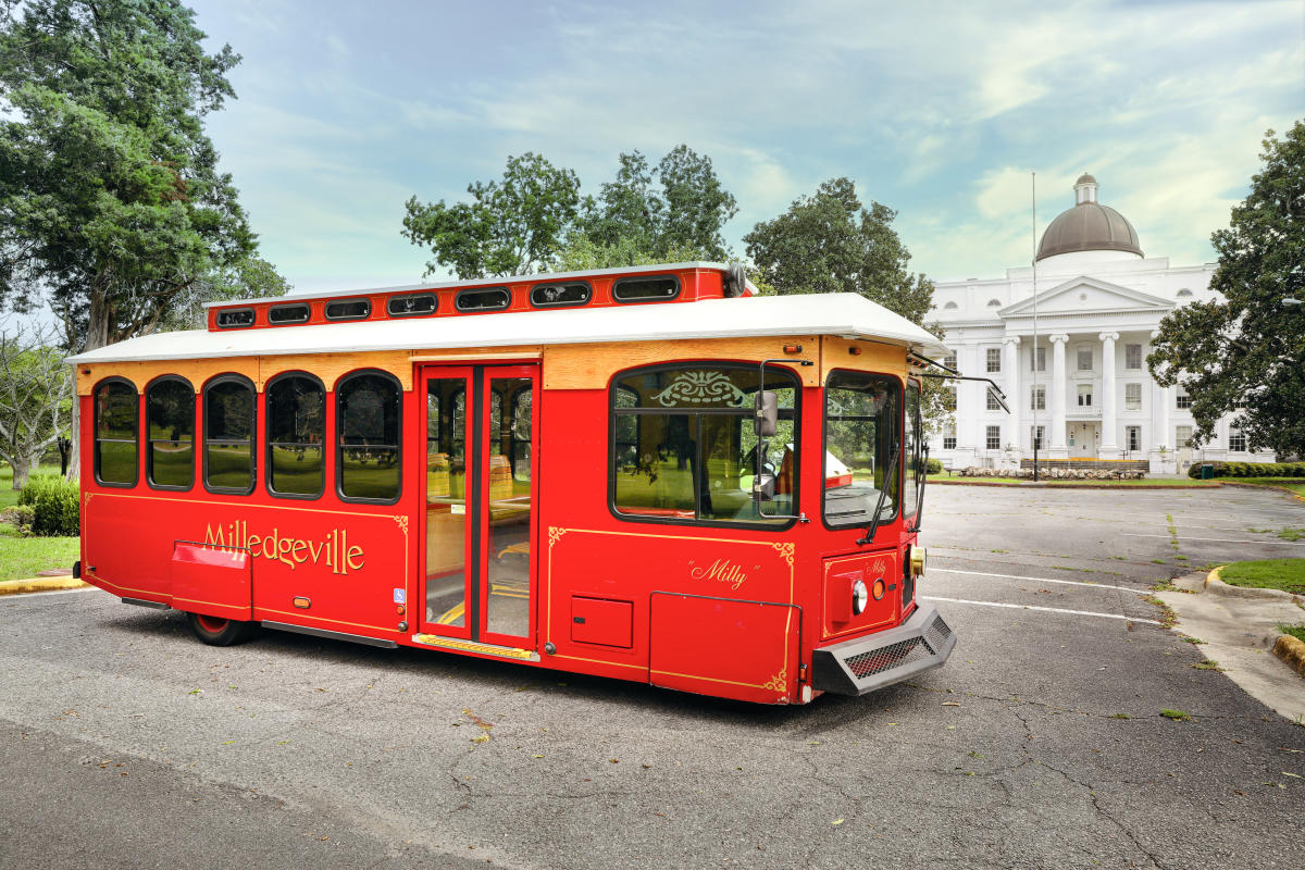 Central State Hospital Campus trolley