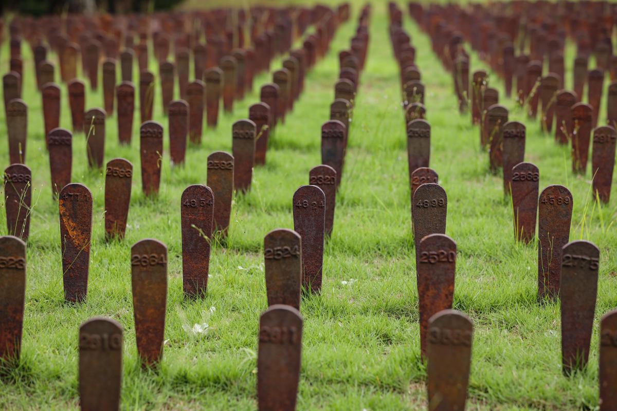 Cedar Lane Cemetery at Central State Hospital