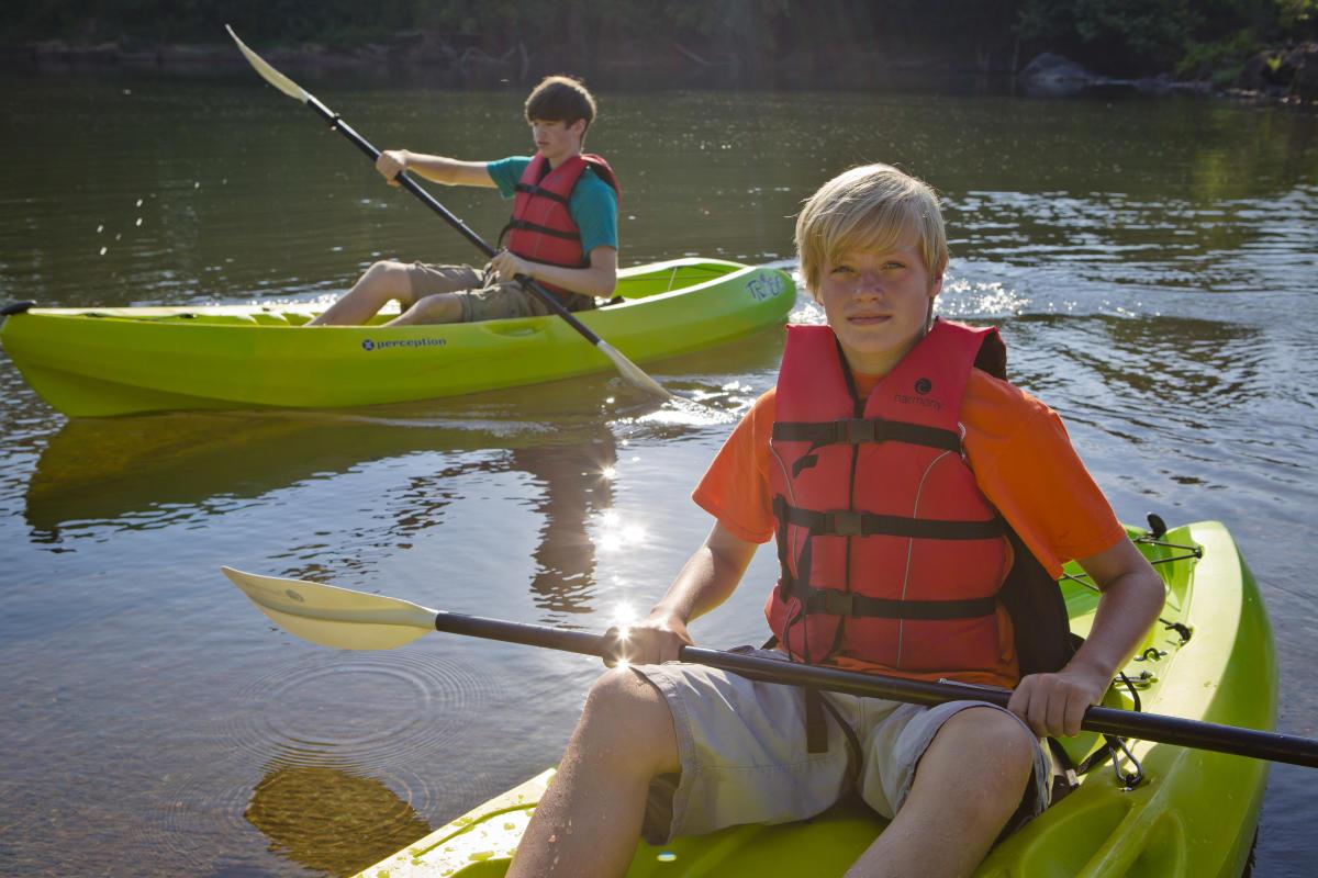 Kayaking the Oconee River Greenway