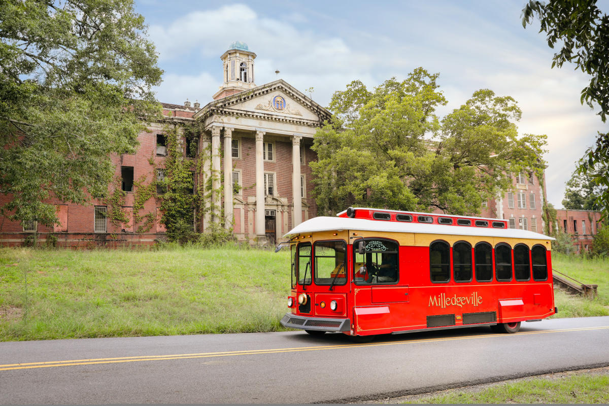 Central State Hospital trolley