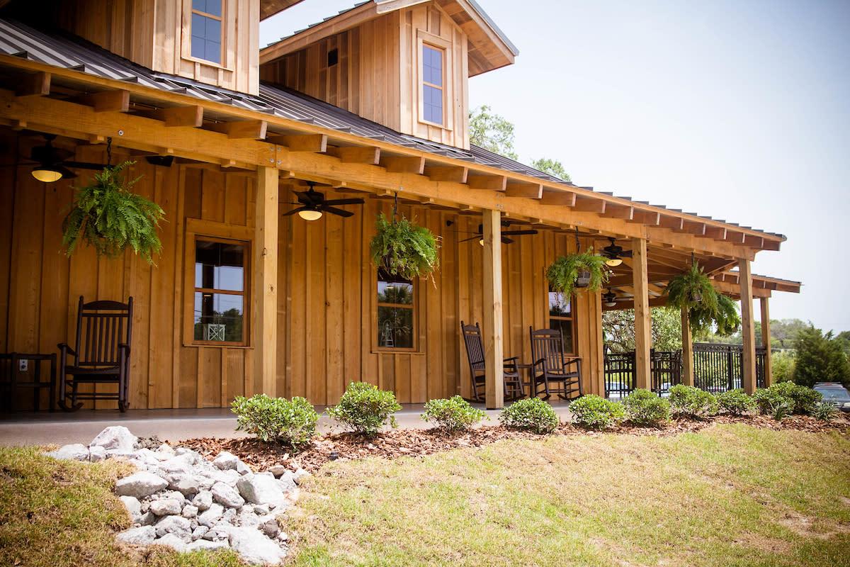 Porch at Duplin Winery