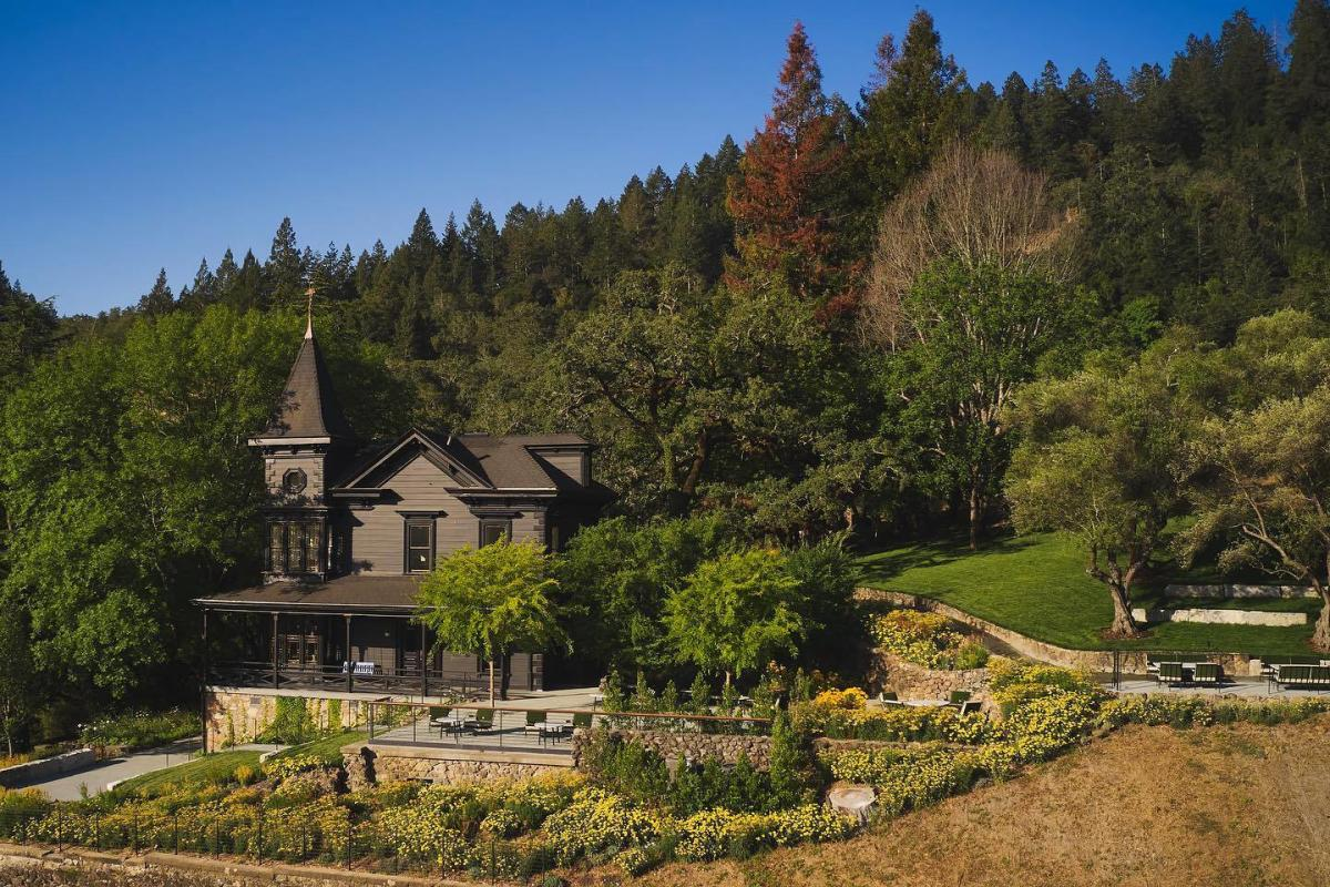 Faust winery in St. Helena