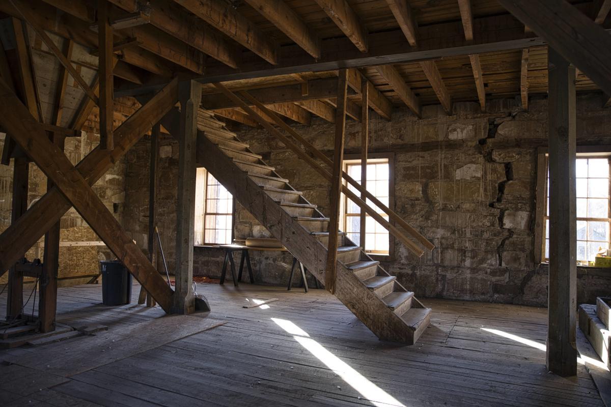 Mora Valley, St. Vrain Mill Interior