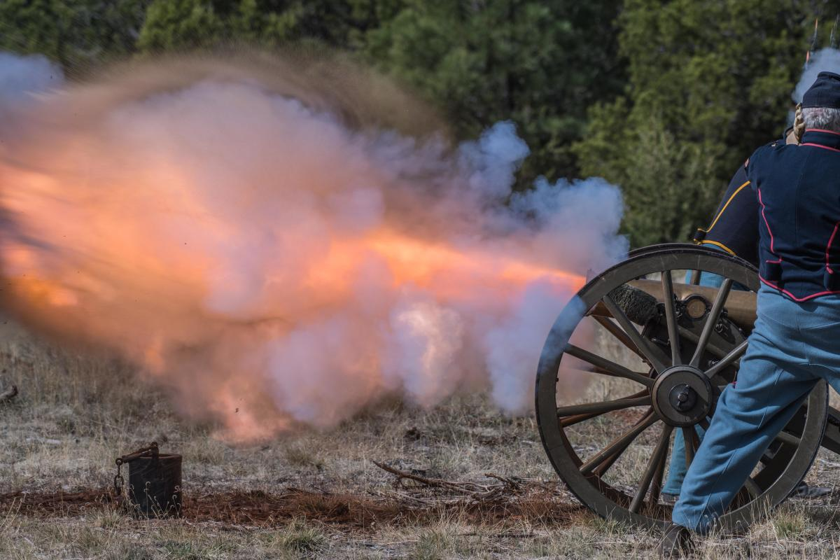 Civil War Encampment Pecos