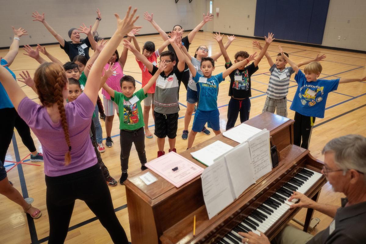NDI Outreach Program Fourth Graders