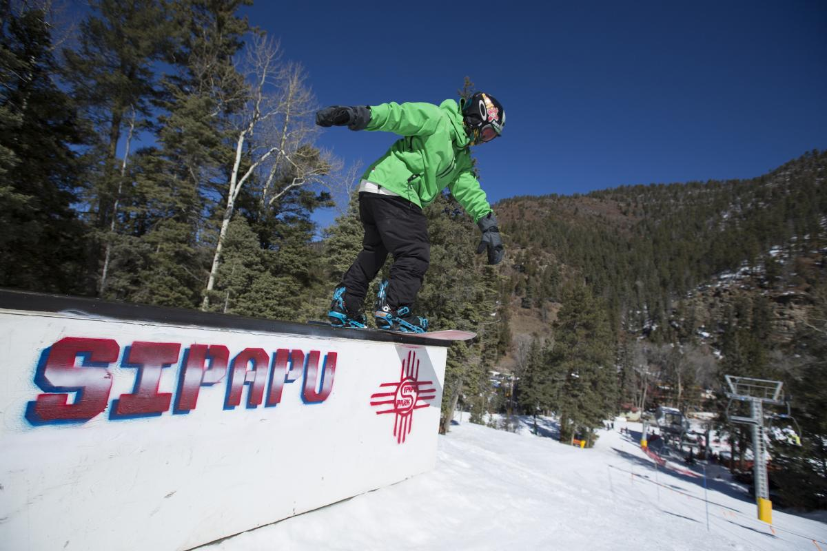 Four terrain parks highlight Sipapu Ski & Summer Resort's family environment, New Mexico Magazine