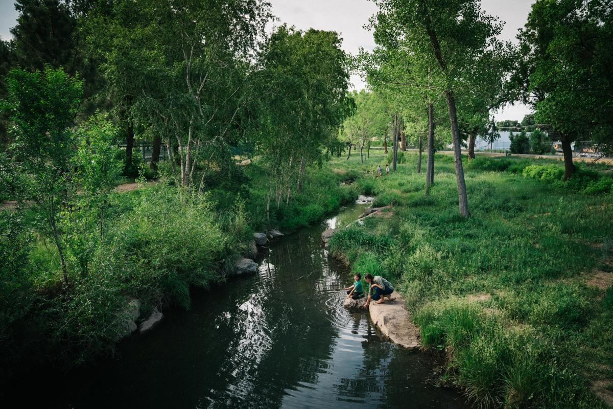 The Gallinas River