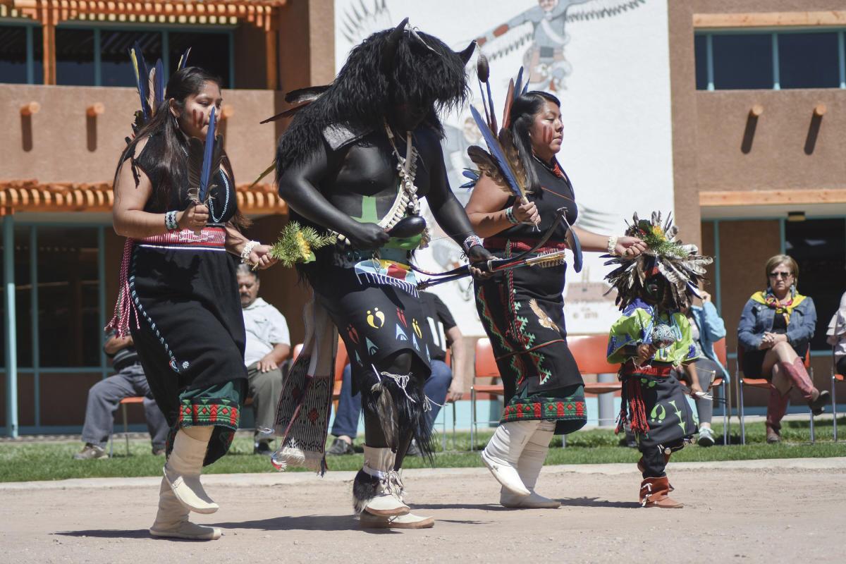Dancer at the Indian Pueblo Cultural Center
