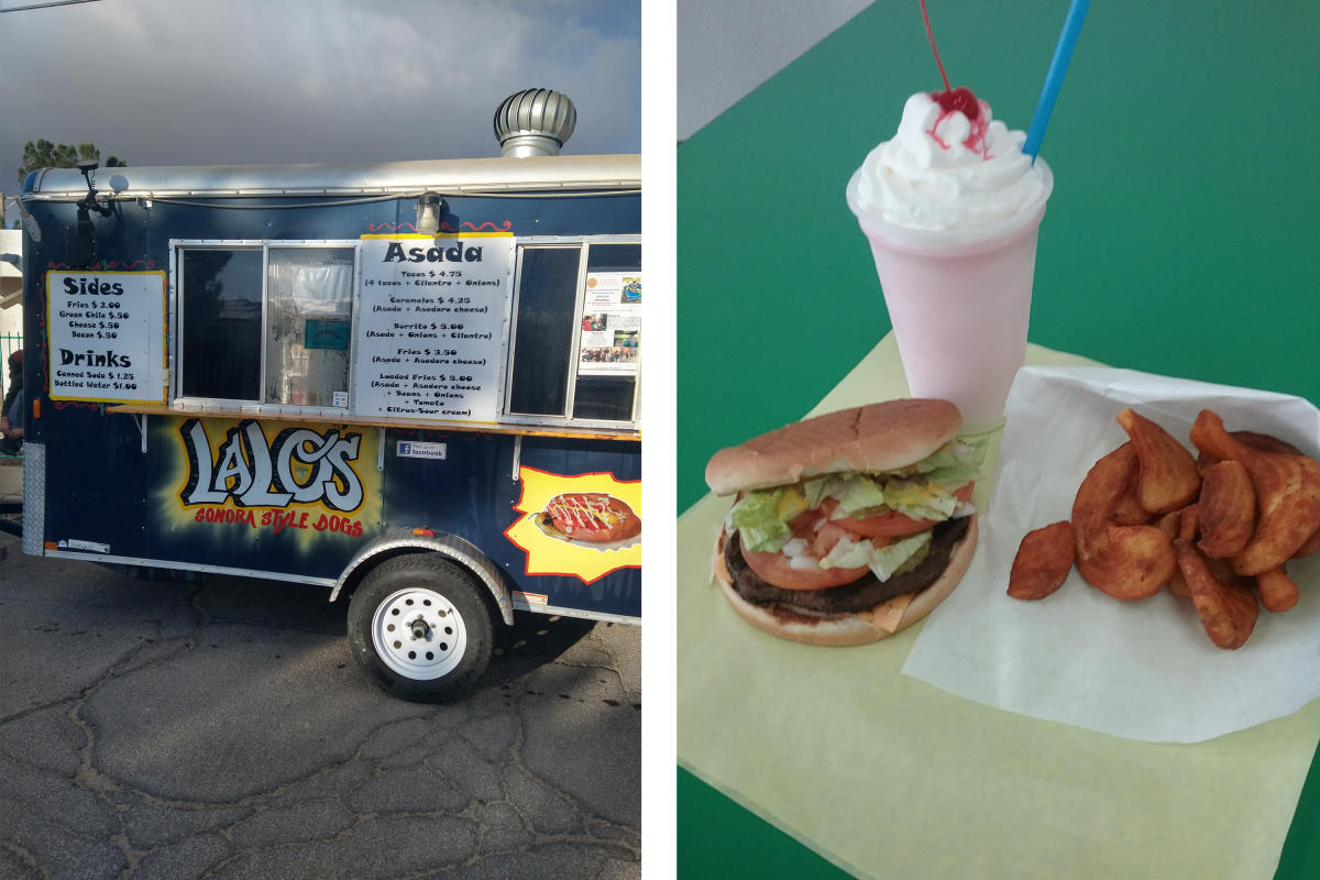 Lalo's Sonora Style Dogs and Cactus Flats in Las Cruces