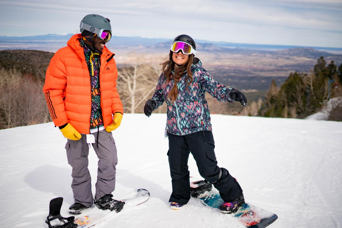 Sandia Peak Ski Area provides easy access from Albuquerque, New Mexico Magazine