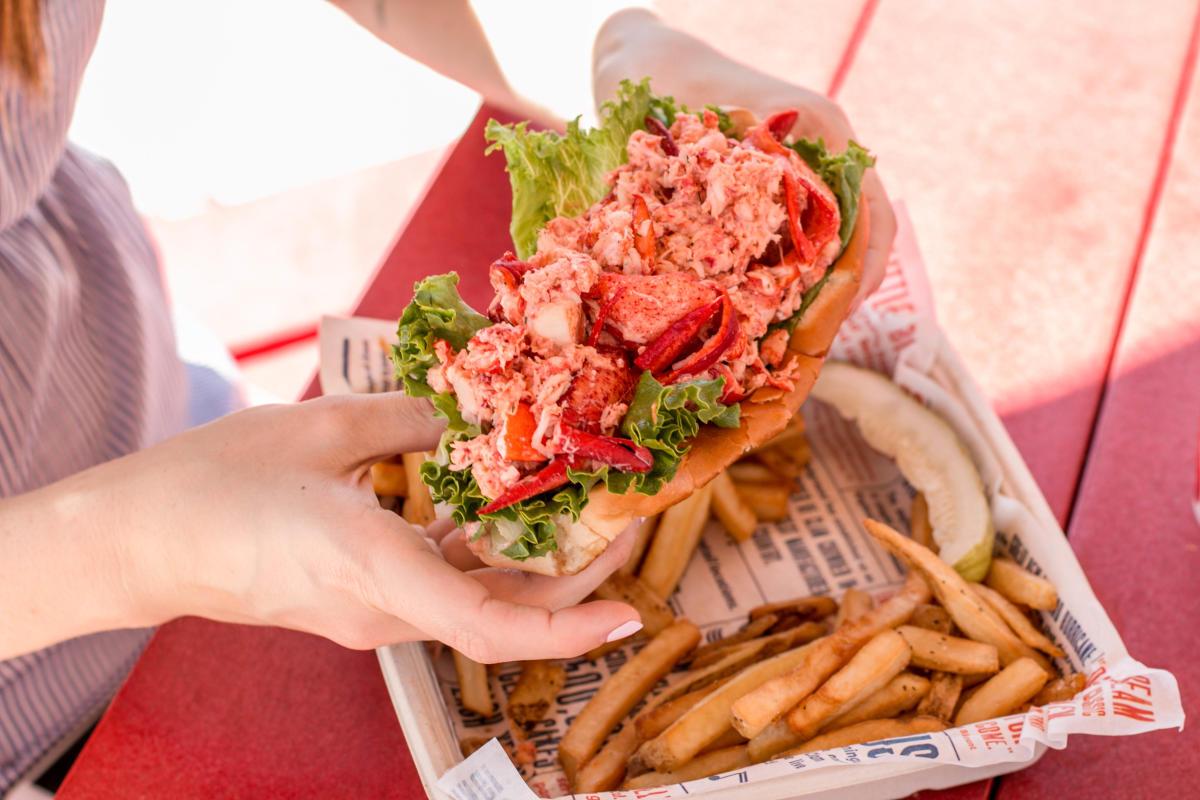 Blount Clam Shack Lobster Roll