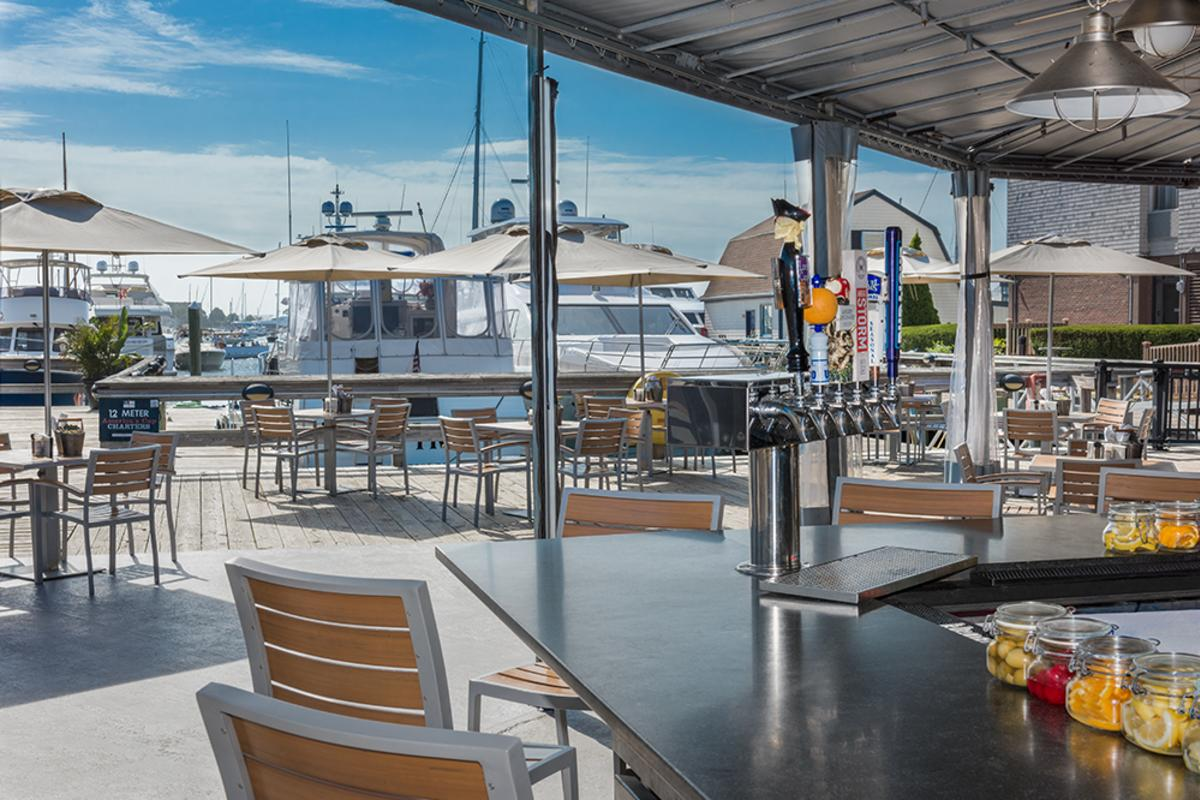 Outdoor Bar Newport Harbor TMD