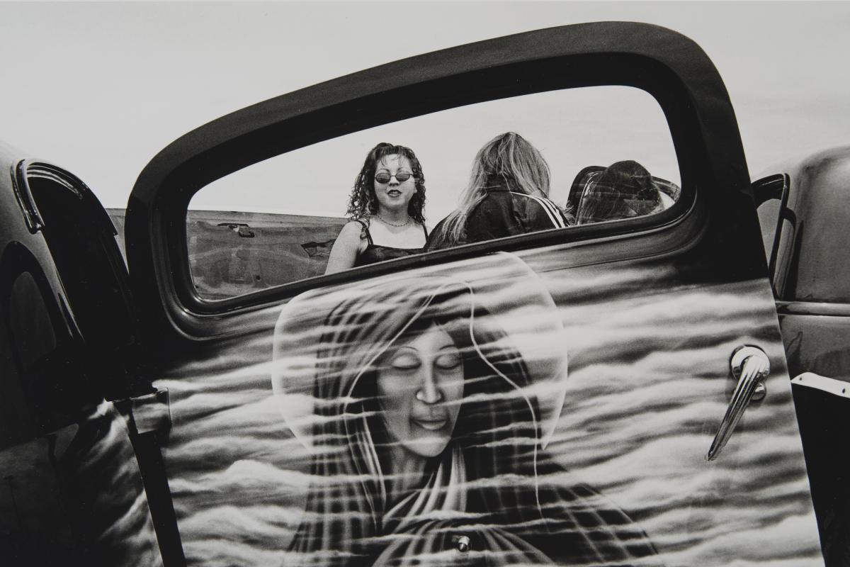 Espanola, New Mexico, 2000 silver gelatin print by Norman Mauskopf