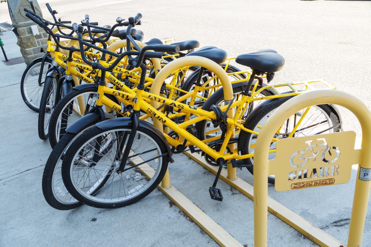 Tenino Yellow Bike Project