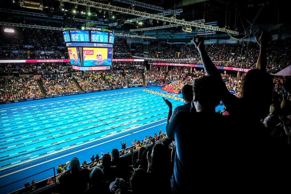 Olympic Swim Trials in Omaha