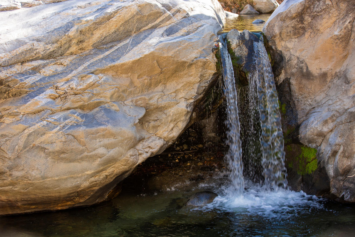 Tahquitz Canyon and waterfall