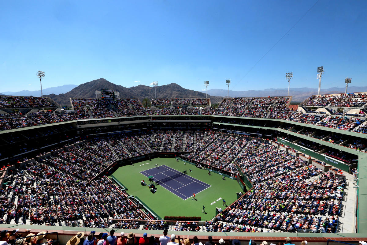 Indian Wells Tennis Garden during BNP Paribas