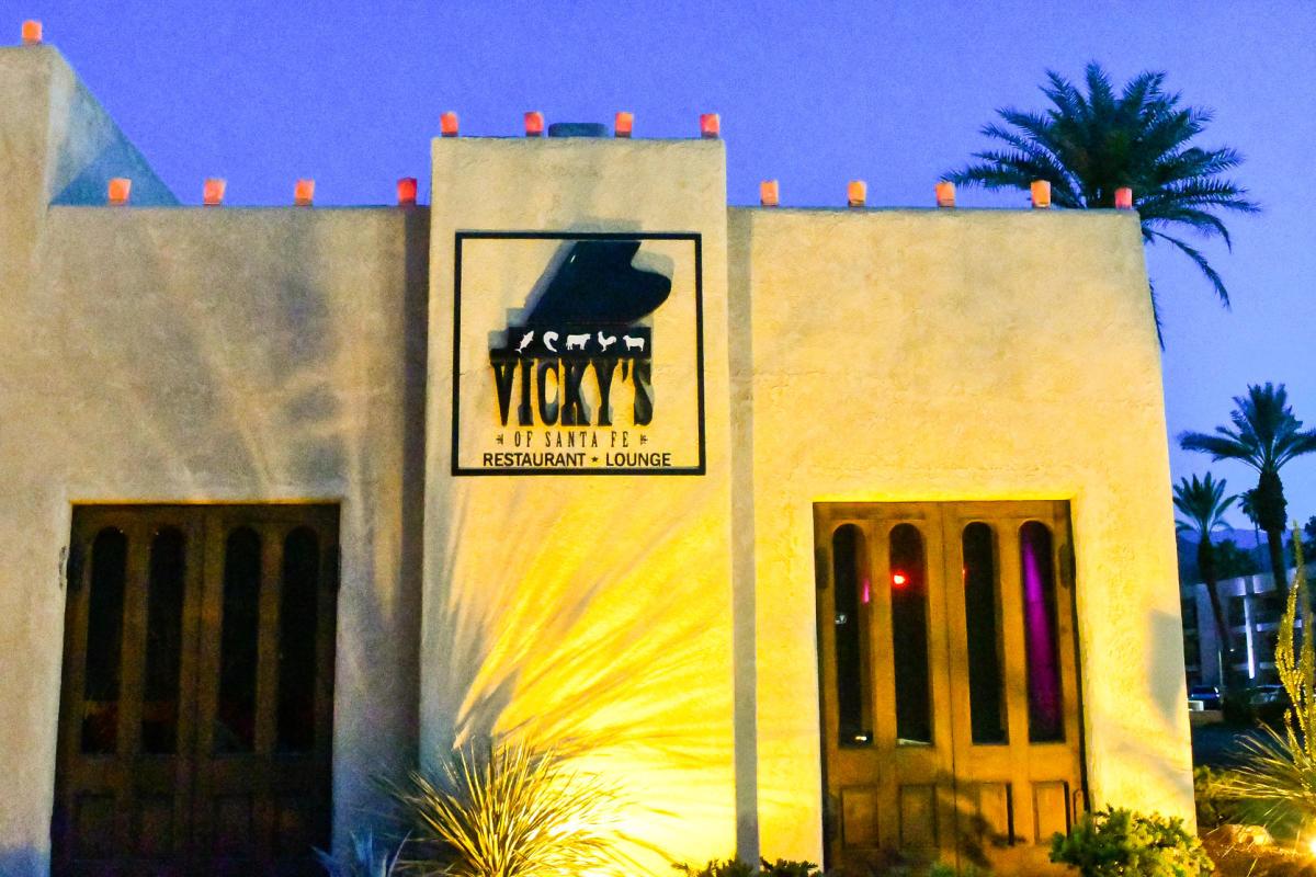 Exterior of Vicky's of Santa Fe