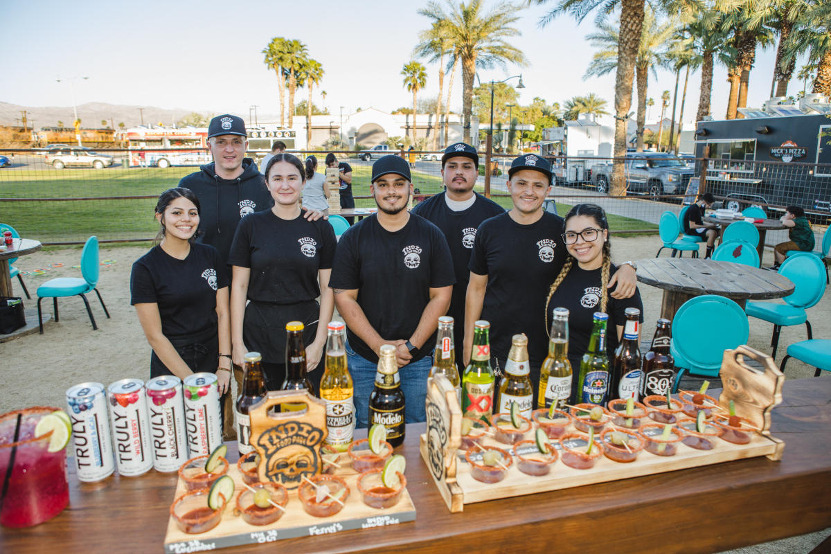 Indio Food Park and staff