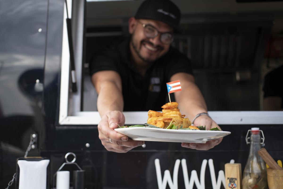 Phoenix Coqui Food Truck Dish