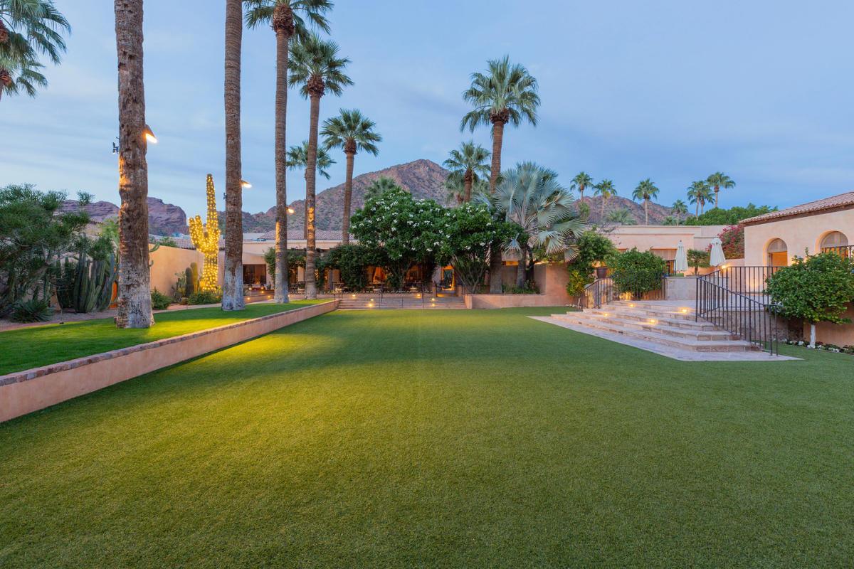 Vernadero Lawn at Royal Palms Resort and Spa