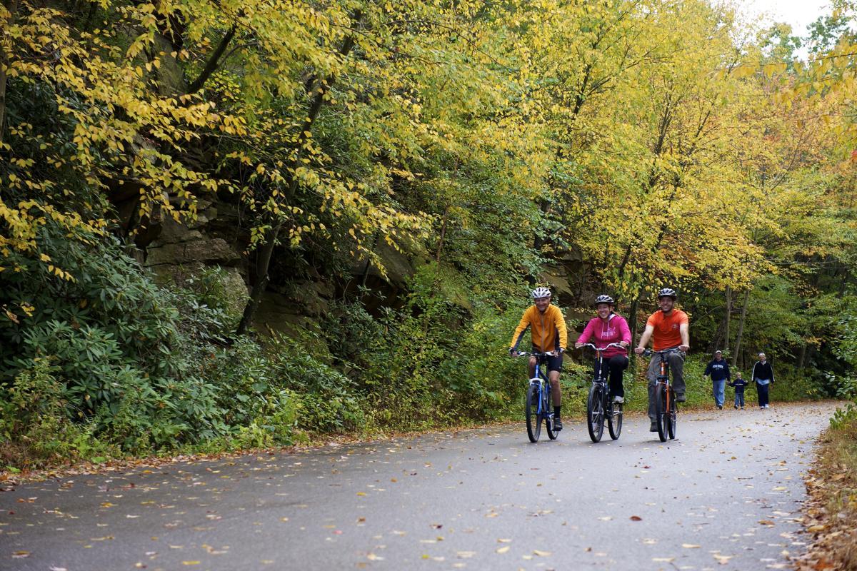 Pocono Biking in the Fall