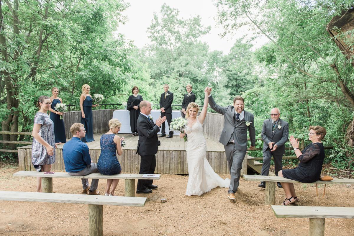 Racine Zoo Wedding