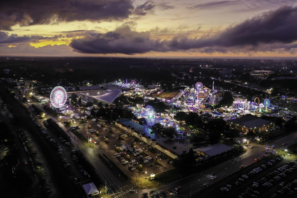 N.C. State Fair drone photo