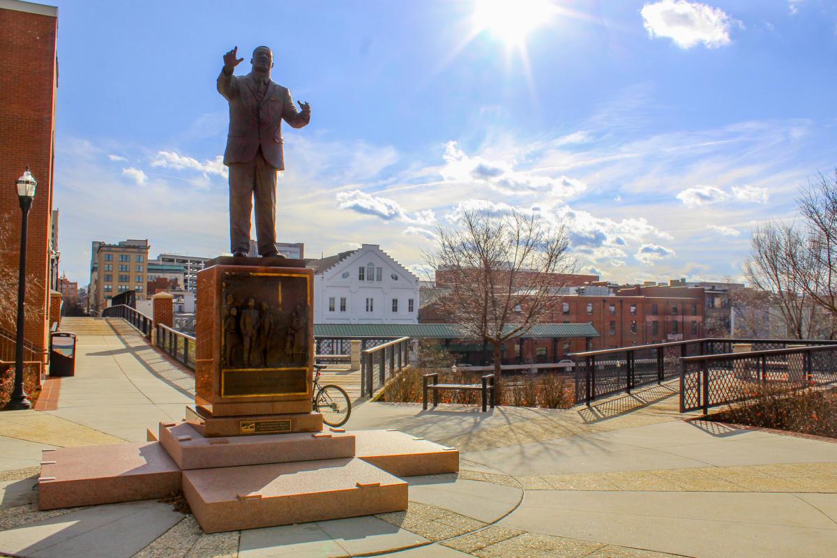 Martin Luther King Jr. Statue - Roanoke, VA