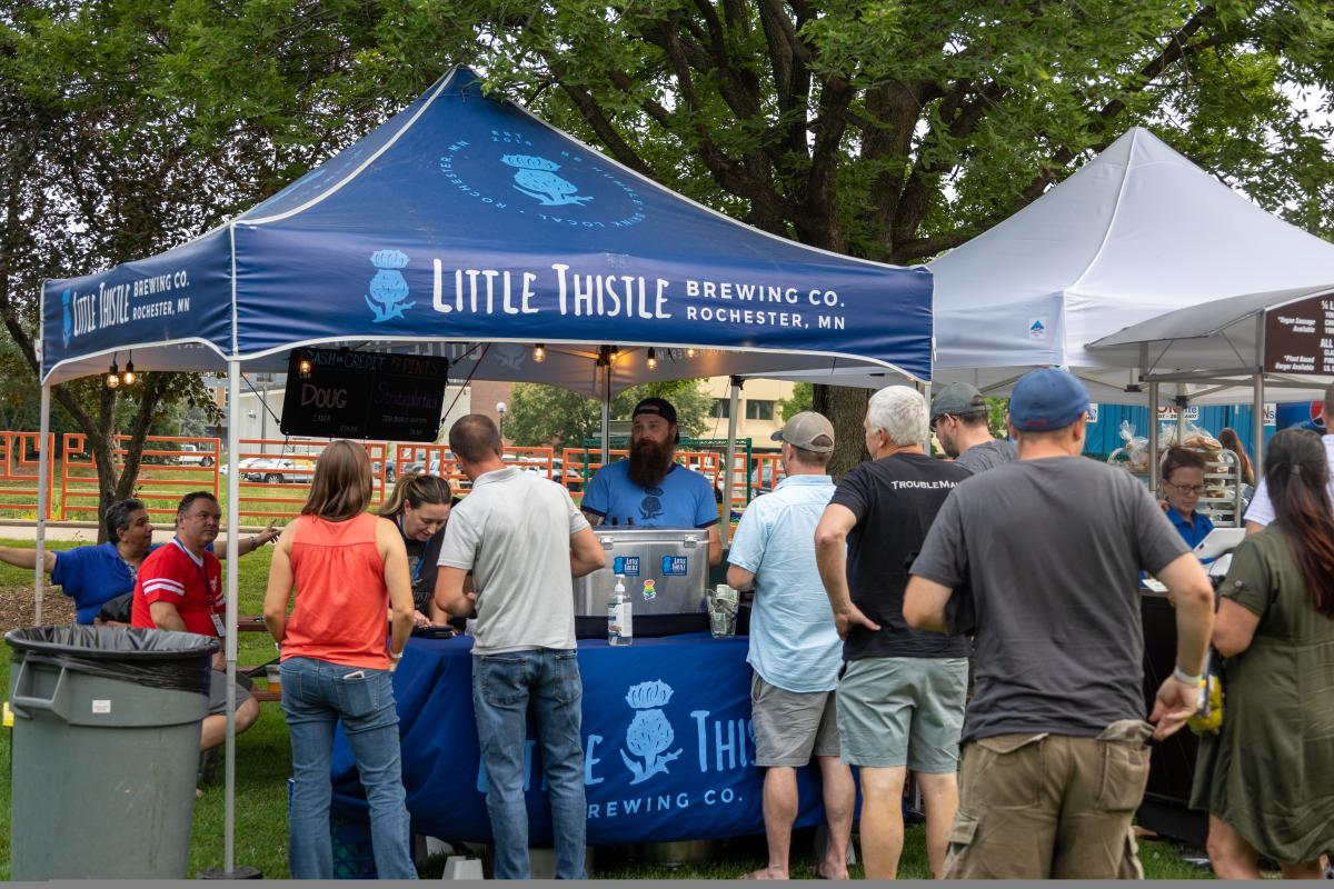 Little Thistle Brewing at Blues Traveler