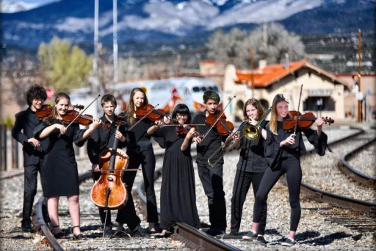 Santa Fe high school student musicians