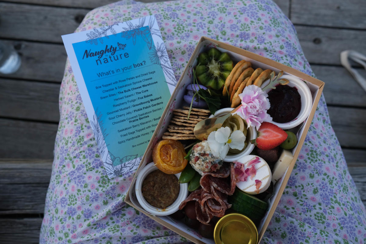 Style and Graze charcuterie box - Naughty by Nature
