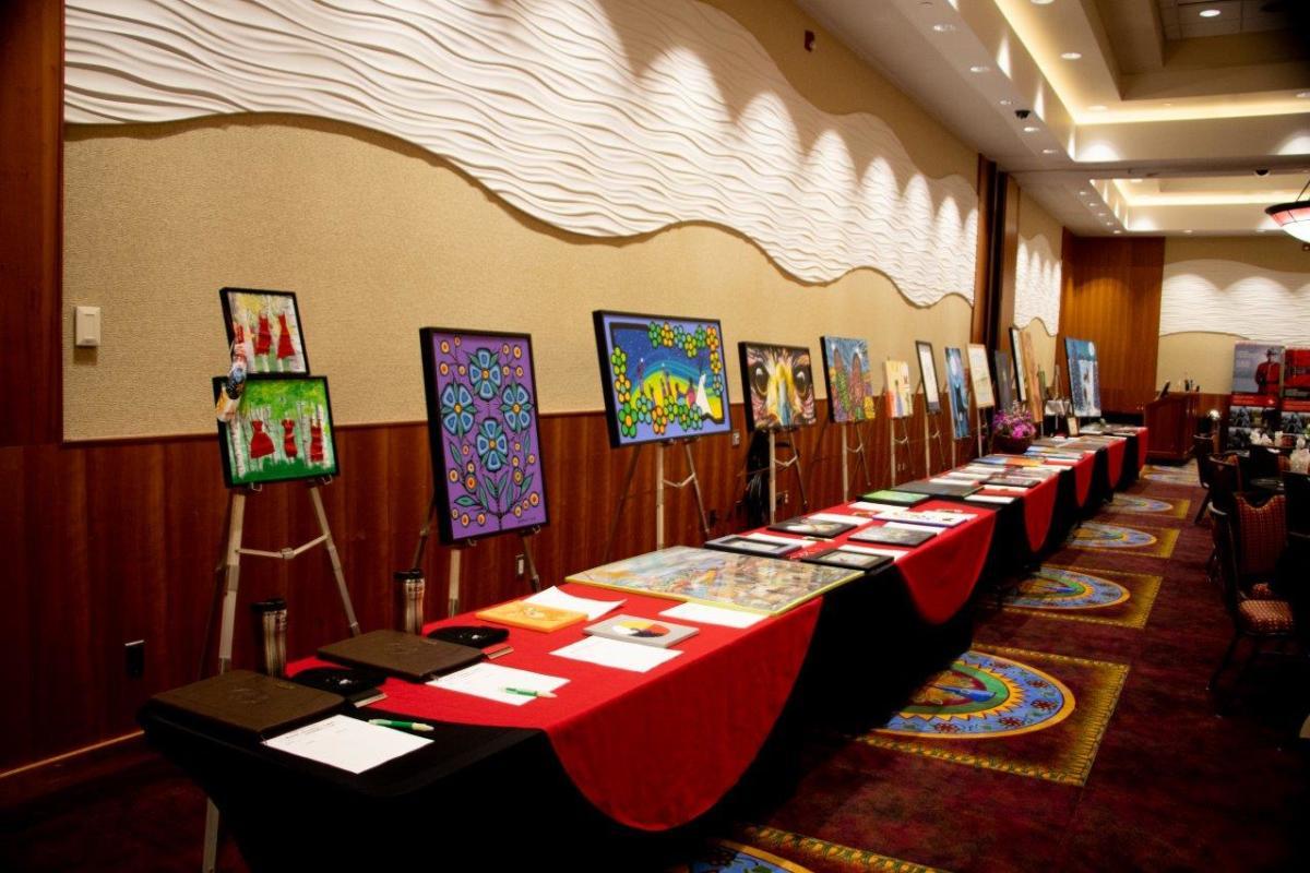 Metis cultural days art auction