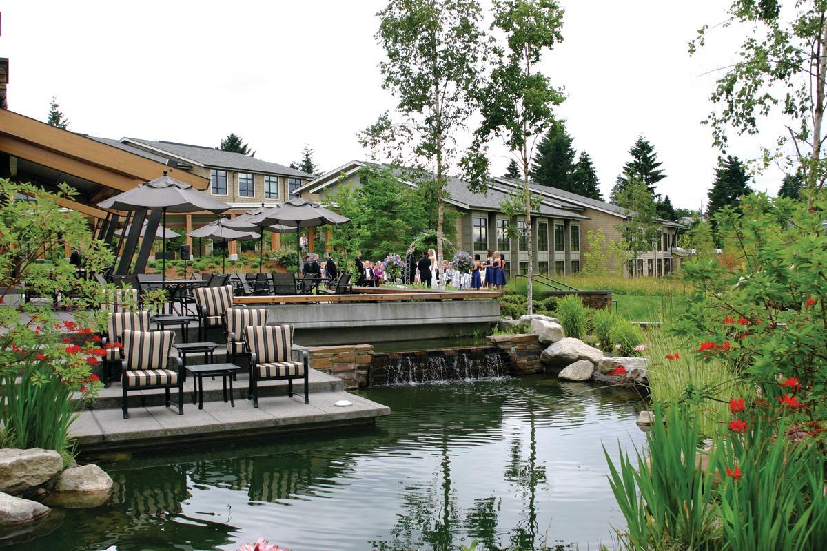Wedding Ceremony at Cedarbrook Lodge