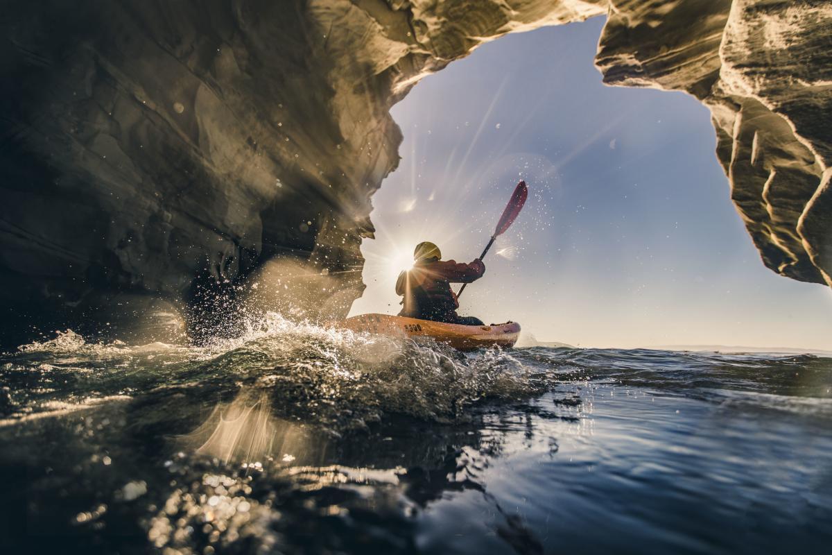 Kayaking in SLO CAL