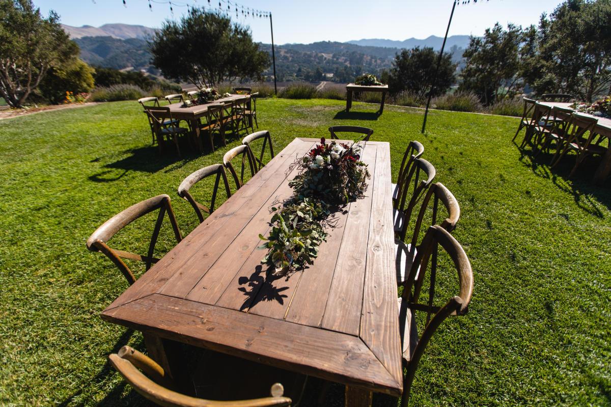 Tables at Casitas of Arroyo Grande