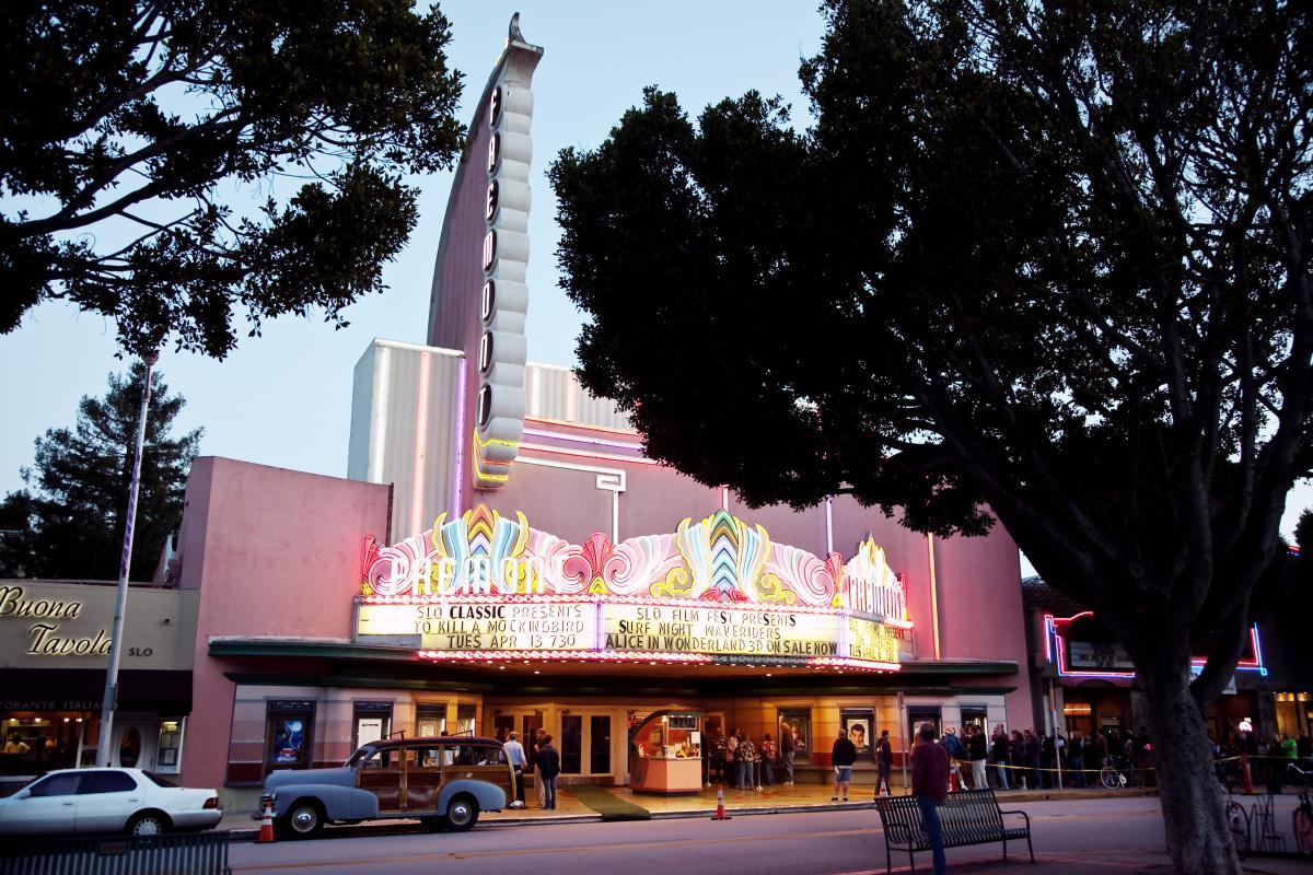 Fremont Theater in San Luis Obispo