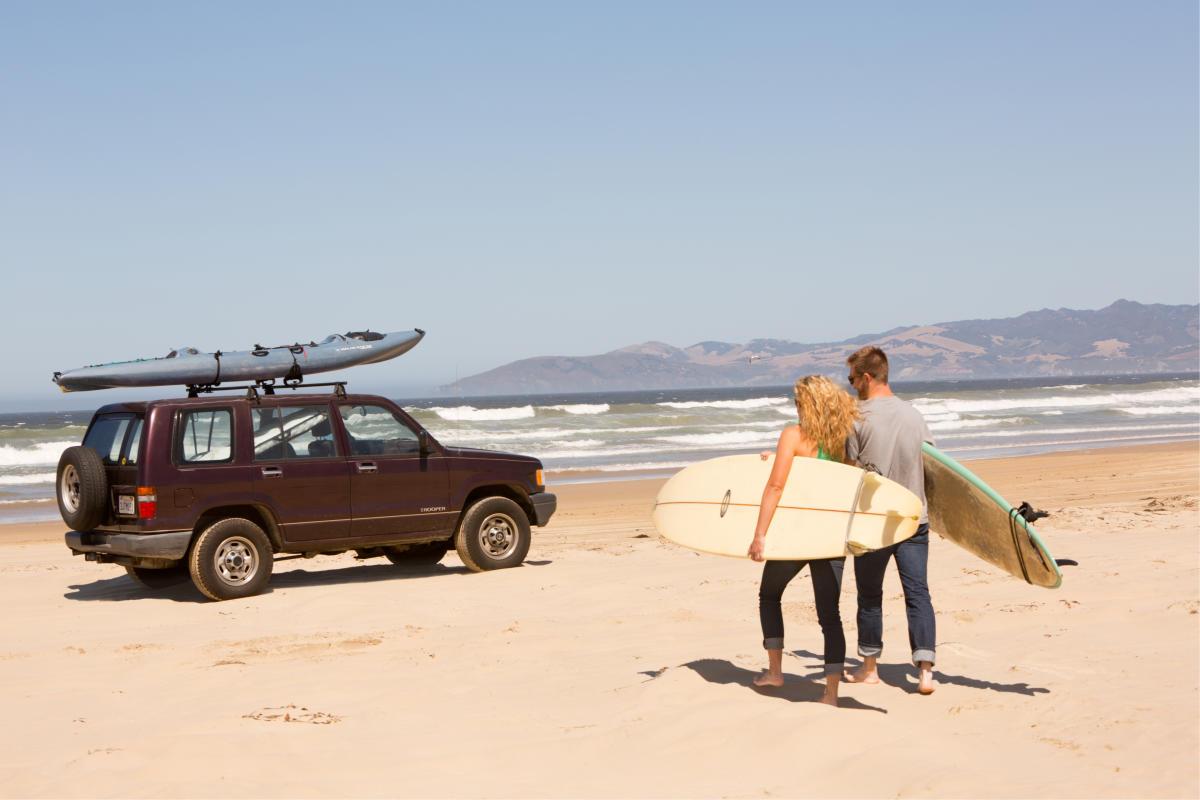 Oceano Dunes Car SUV Picnic