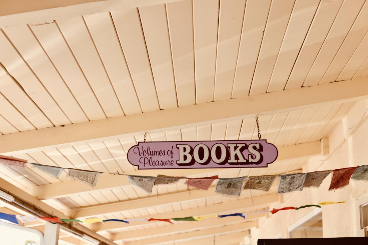 Volumes of Pleasure Bookstore in SLO CAL