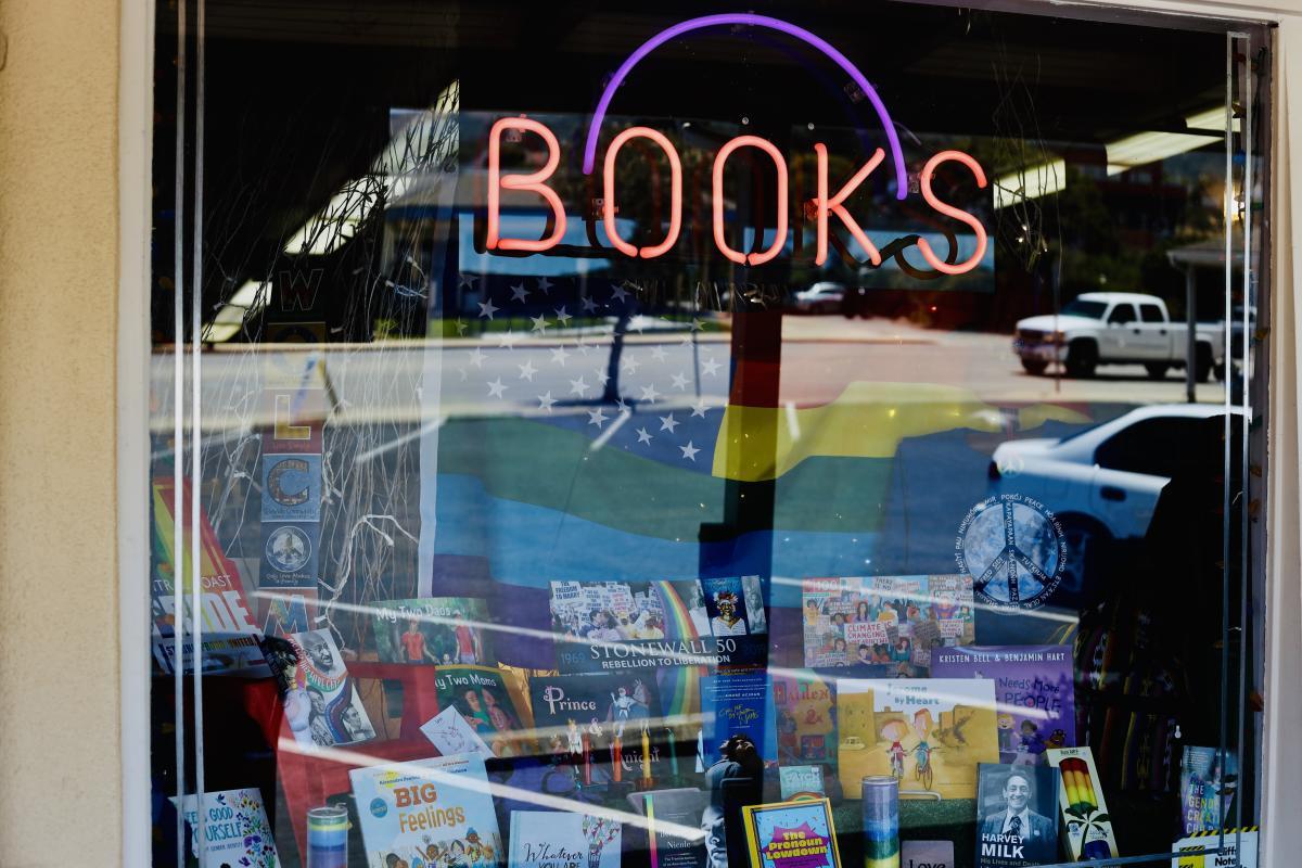 Volumes of Pleasure Bookshoppe in SLO CAL