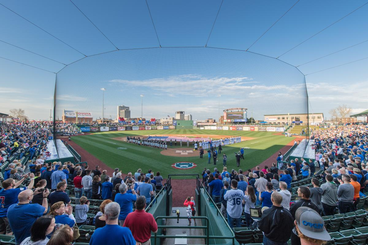 South Bend Cubs Opening Day