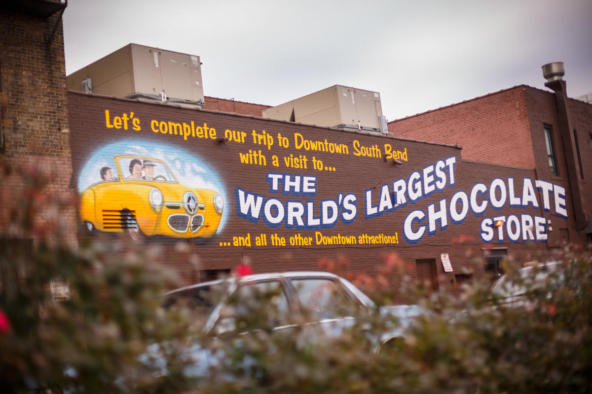 Chocolate Store Sign