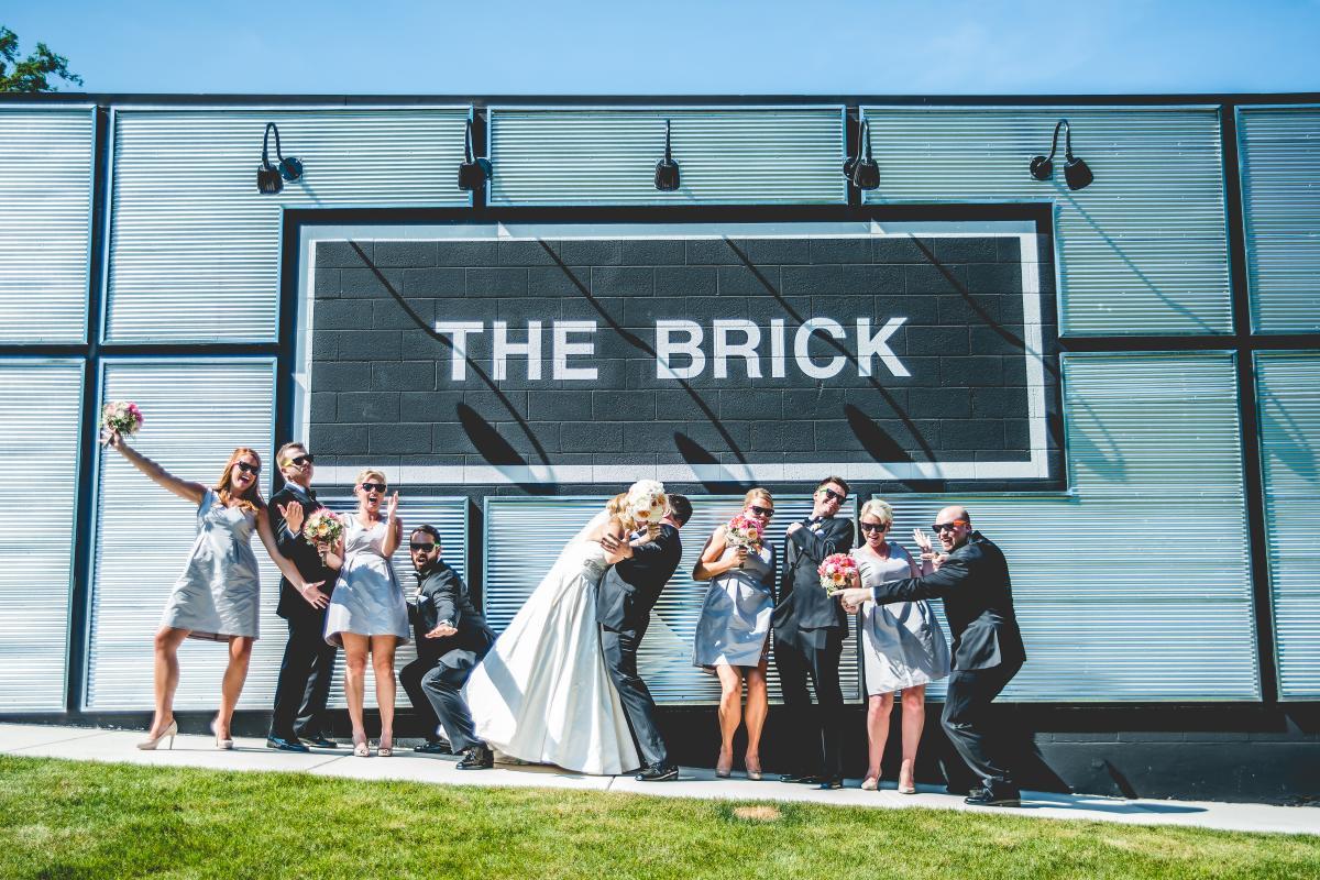 Wedding Group at The Brick